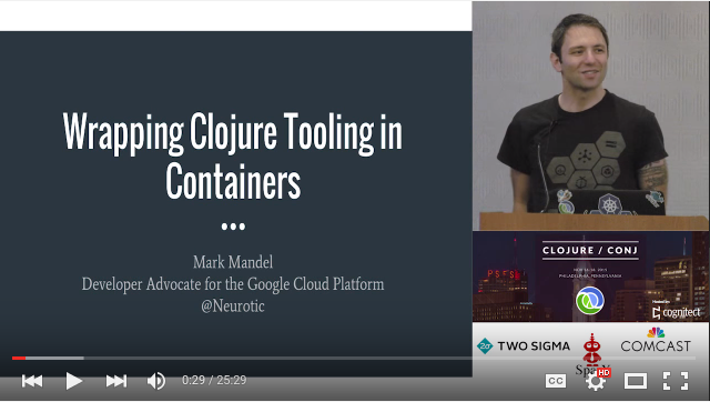 Wrapping Clojure Tooling in Containers